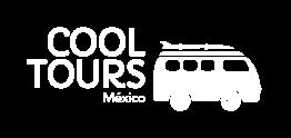 Cool Tours México logotipo blanco